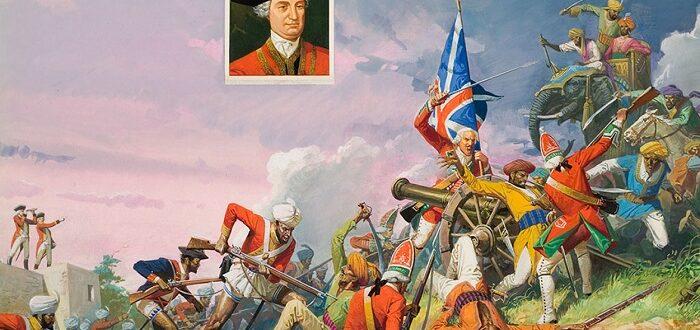 Битва при Плесси 1757 год