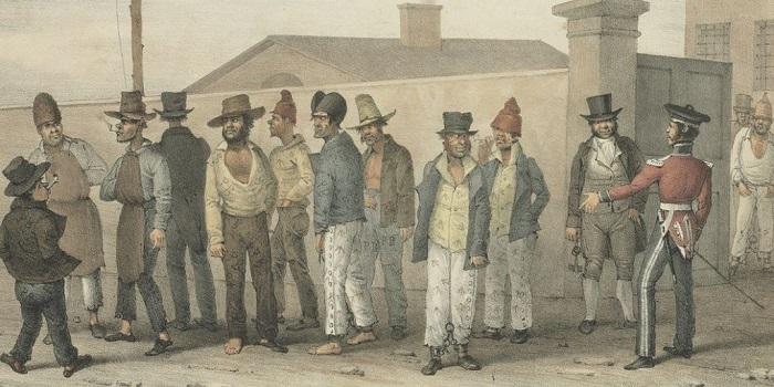 Каторга в Австралии в конце XVIII века
