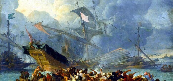 Морское сражение при Лепанто