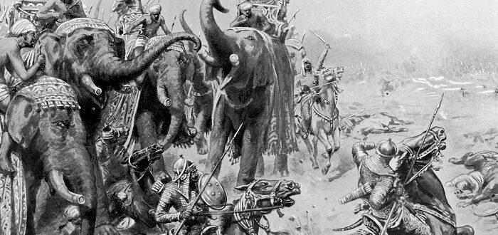 Победа Бабура в битве при Панипате в 1526 году
