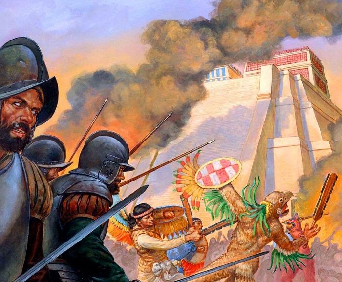 Испанское завоевание Мексики и Перу