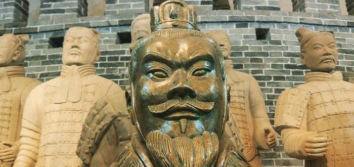 Первая китайская империя. 221г. Цинь Шихуан