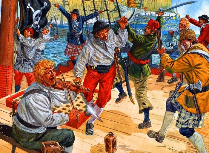 Пиратские войны в Карибском бассейне