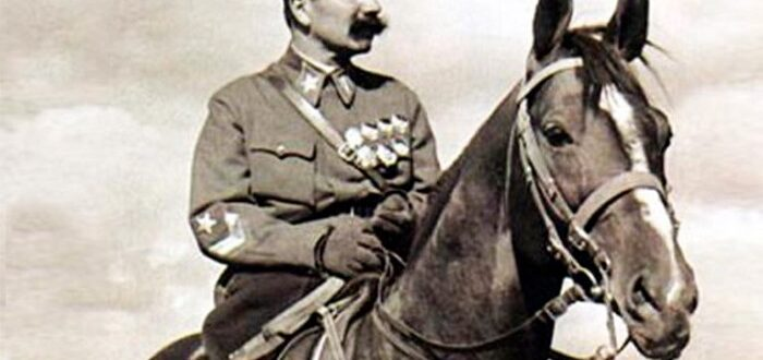 Буденный, Гражданская война, Первая конная,